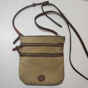 Dooney bourke nylon triple crossbody